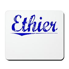 Ethier, Blue, Aged Mousepad
