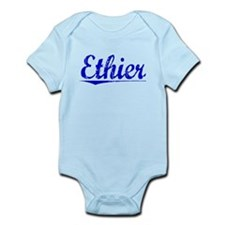 Ethier, Blue, Aged Infant Bodysuit