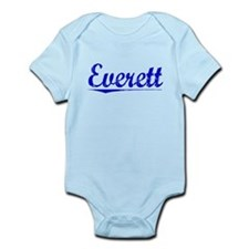 Everett, Blue, Aged Onesie