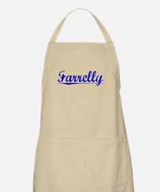 Farrelly, Blue, Aged Apron