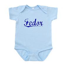 Fedor, Blue, Aged Infant Bodysuit