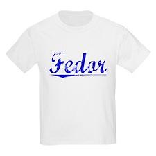 Fedor, Blue, Aged T-Shirt