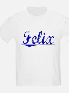 Felix, Blue, Aged T-Shirt