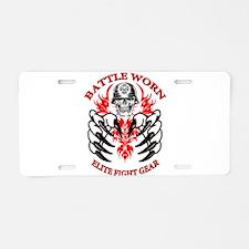 Unique Martial arts Aluminum License Plate