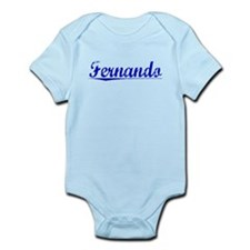 Fernando, Blue, Aged Infant Bodysuit