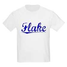 Flake, Blue, Aged T-Shirt