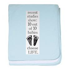 10 Out Of 10 Babies.jpg baby blanket