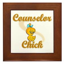 Counselor Chick #2 Framed Tile