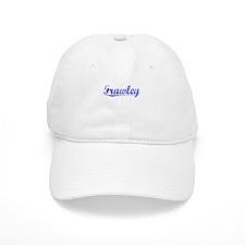 Frawley, Blue, Aged Baseball Cap