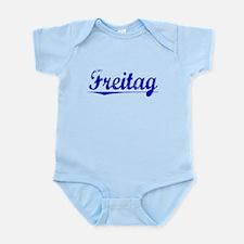 Freitag, Blue, Aged Infant Bodysuit