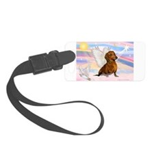 Dachshund / Angel (br) Luggage Tag