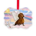 Dachshund / Angel (br) Picture Ornament