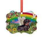 Rainbow Bright / Dachshund (w Picture Ornament