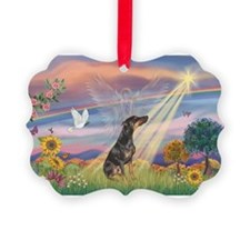 Cloud Angel - Dobie (B) Ornament