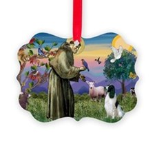 St Francis /English Springer Ornament