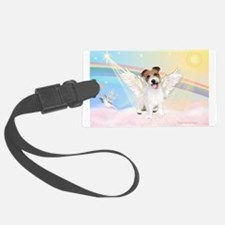 Angel /Jack Russell Terrier Luggage Tag