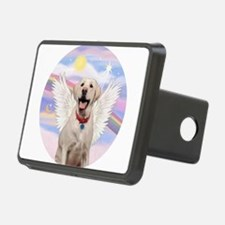 Yellow Labrador Angel Hitch Cover