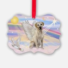 Angel Labrador Ornament