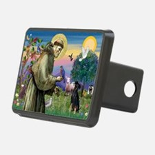 St. Francis & Min Pin Hitch Cover