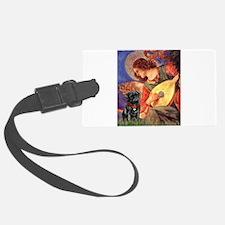 Mandolin Angel / Pug (blk) Luggage Tag