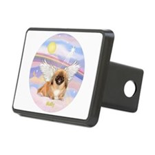Clouds / Angel Peke MOLLY Hitch Cover