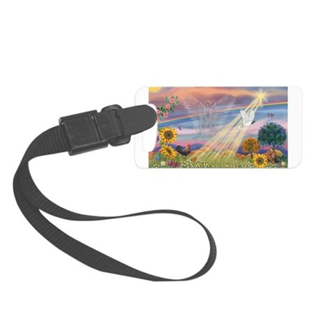With us always Small Luggage Tag