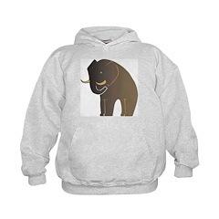 Stylized Elephant Hoodie