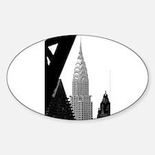 Chrysler No.png Sticker (Oval)