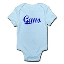 Gano, Blue, Aged Infant Bodysuit