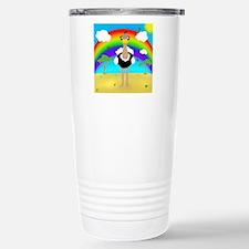 Kawaii Ostrich Stainless Steel Travel Mug