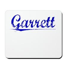 Garrett, Blue, Aged Mousepad