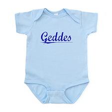 Geddes, Blue, Aged Infant Bodysuit