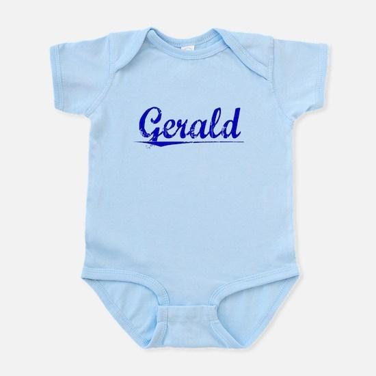 Gerald, Blue, Aged Infant Bodysuit