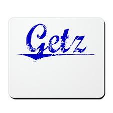Getz, Blue, Aged Mousepad