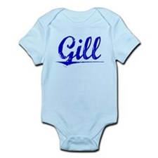 Gill, Blue, Aged Infant Bodysuit