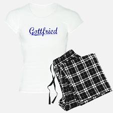 Gottfried, Blue, Aged Pajamas