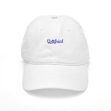 Gottfried, Blue, Aged Baseball Cap