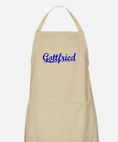 Gottfried, Blue, Aged Apron