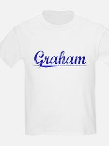 Graham, Blue, Aged T-Shirt