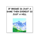 BRIDGE2.png Square Sticker 3