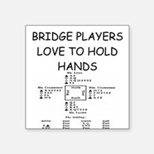 "BRIDGE.png Square Sticker 3"" x 3"""