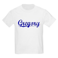 Gregory, Blue, Aged T-Shirt