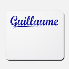 Guillaume, Blue, Aged Mousepad