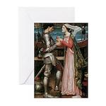 Tristram Isolde Greeting Cards (Pk of 10)