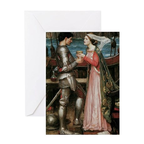 Tristram Isolde Greeting Card