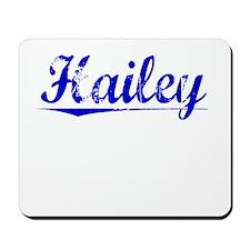 Hailey, Blue, Aged Mousepad