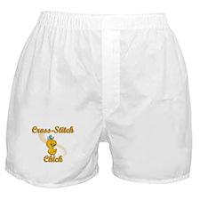 Cross-Stitch Chick #2 Boxer Shorts