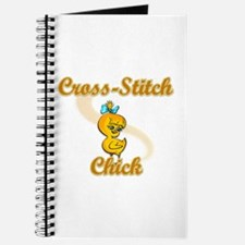 Cross-Stitch Chick #2 Journal