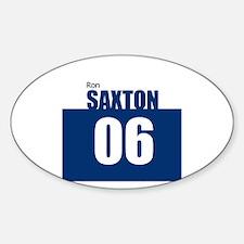 Saxton 06 Oval Decal