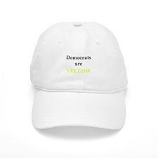 Democrats are Yellow Baseball Cap